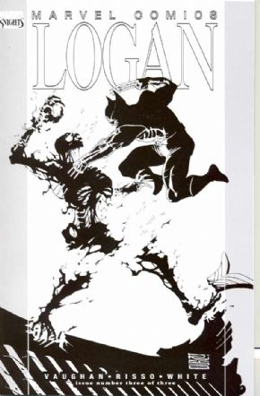 Logan #3 B&W Sketch Variant Wolverine Marvel Comics US Import